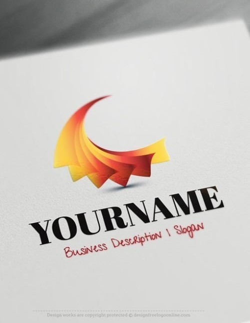 Design-Free-3D-Art-Abstract-Logo-TemplateS