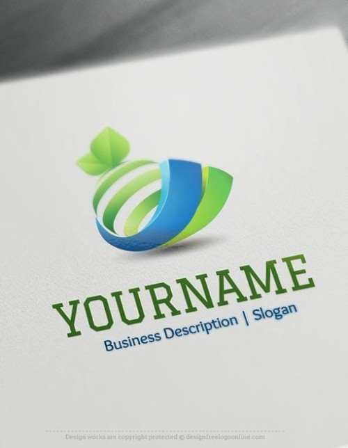 Design Free 3D Orange Online Logo Template - Orange logos