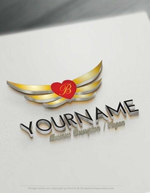 Design-Free-Alphabet-Initials-heart-Logo-TemplateS