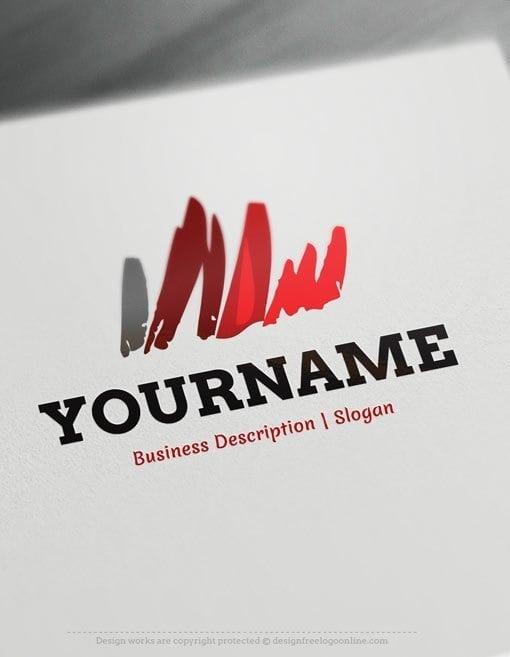 Design-Free-Art-Sketch-Online-Logo-Template
