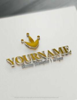 Design-Free-Crown-Online-Logo-Template