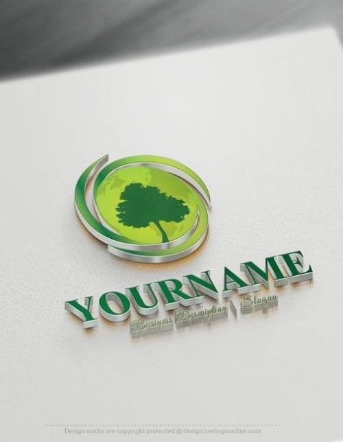 Design Free Design Green Energy Logo Template