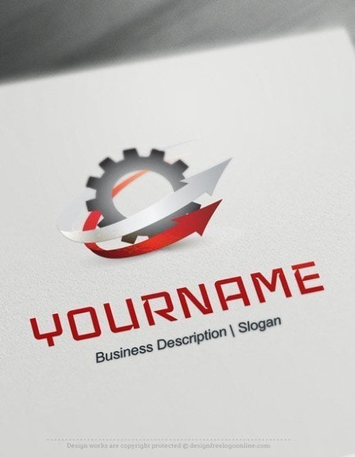Design-Free-Industry-Gear-Logo-templates