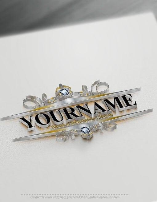 Design-Free-Logo-Beautiful-frame-Online-Logo-Template