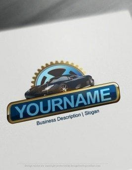 Design Free Logo Car Online Logo. Automotive Logo Design