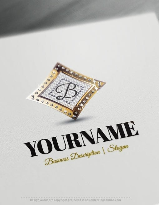 Design-Free-Logo-Initials-diamonds-Logo-Template