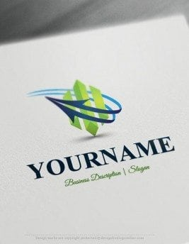 Design-Free-Logo-Online-3D-Abstract-Arrow-Logo-template