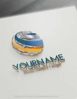 Outstanding 3D Logo Designs Collection