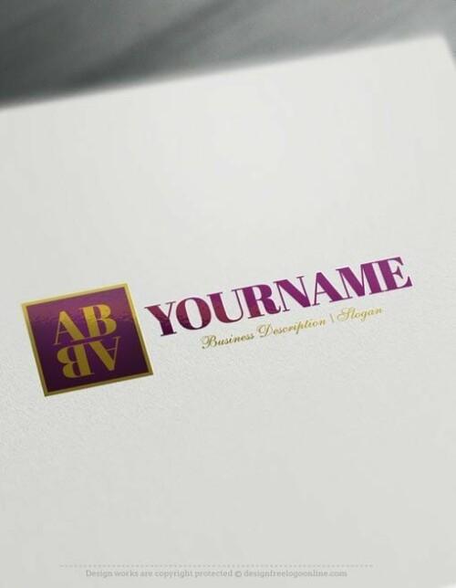 Free Logo Maker - Alphabet Logo Templates