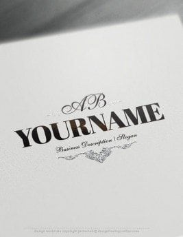Luxurious alphabet Logo Template