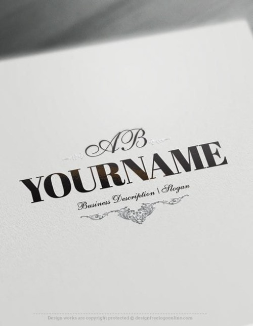 Luxurious alphabet Logo Template