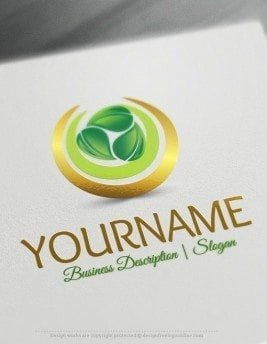 Design-Free-Nature-Green-Spiral-leaves-Logo-Template