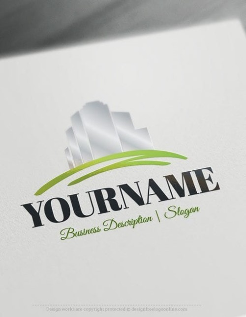 Design-Free-Online-Real-Estate-Logo-template
