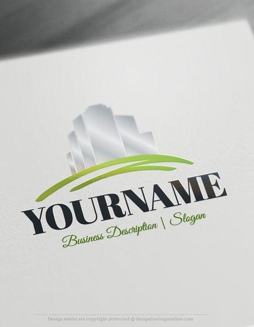 Design-Free-Online-Real-Estate-Logo-template