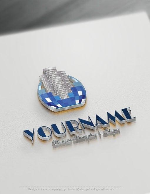Design-Free-Online-Real-Estate-digital-Buildings-logo