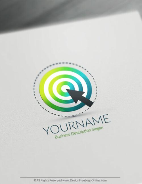 Design your own Target logo online using the Business Logo Maker app.