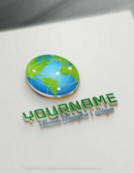 Globe-Network-Logo-Templates
