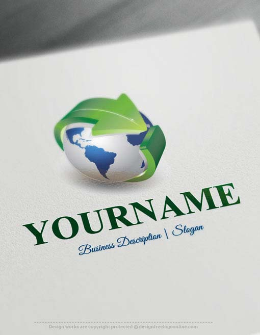 Globe-arrow-Logo-Templates11