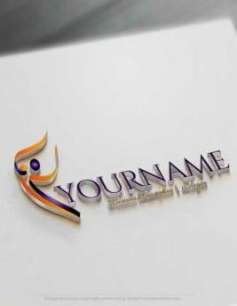 Human-Dance-Logo-Template