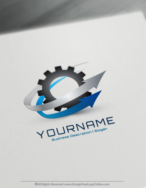 3D Industrial Logos Maker