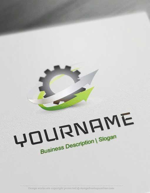 Industry-Gear-Logo-template