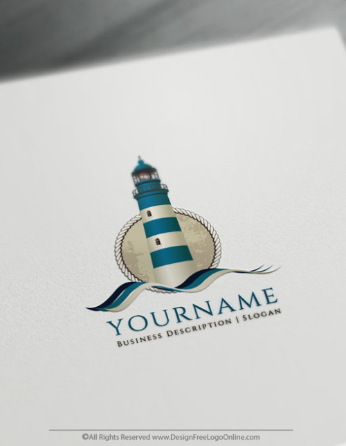 Instantly design your own Lighthouse Logo ideas with online logo maker