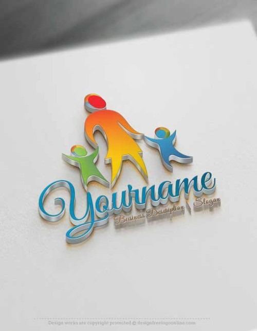 KIDS-family-Logo-Template