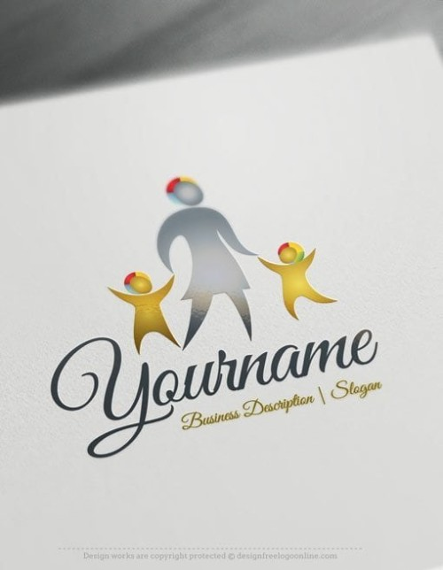 KIDS-family-Logo-Templates