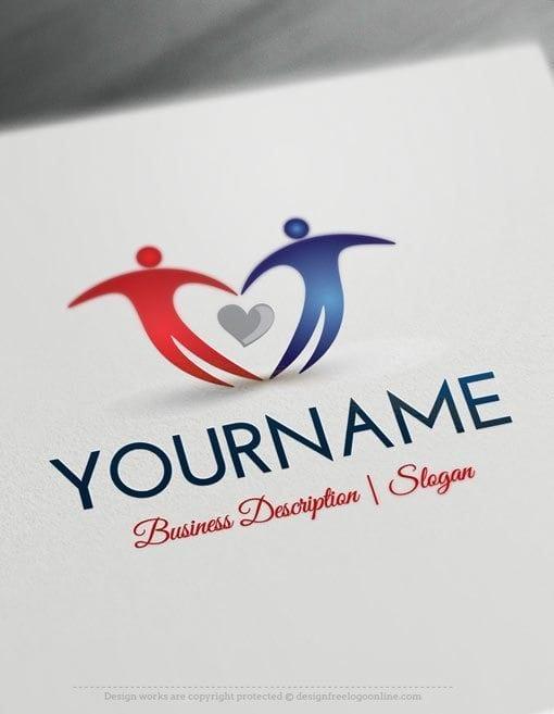 People-love-Logo-Template