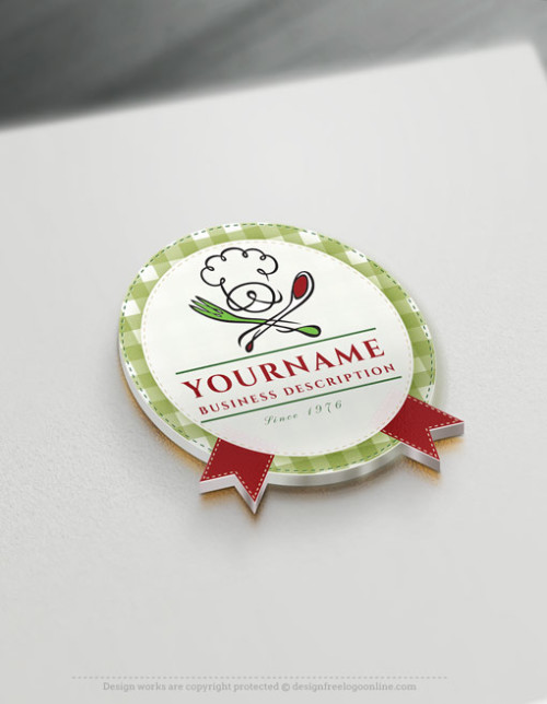 italian Chef Logo Creator