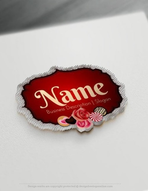 Vintage-Candy-Logo-Template