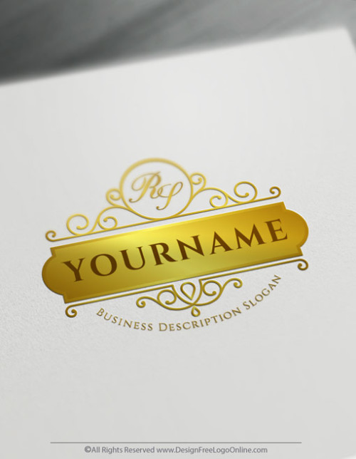 Design your own letter logo ideas with Free vintage Logo Maker. Create a logo today