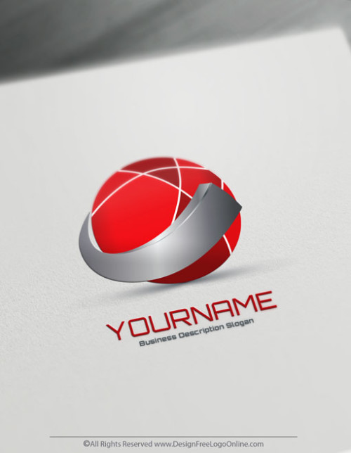 Instantly Design Your Own Online Abstract 3D Logo Ideas.