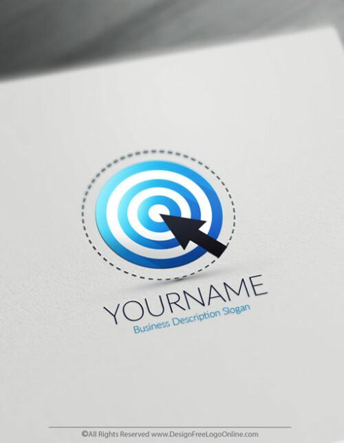 Design your own Blue Target logo online using the Business Logo Maker app.