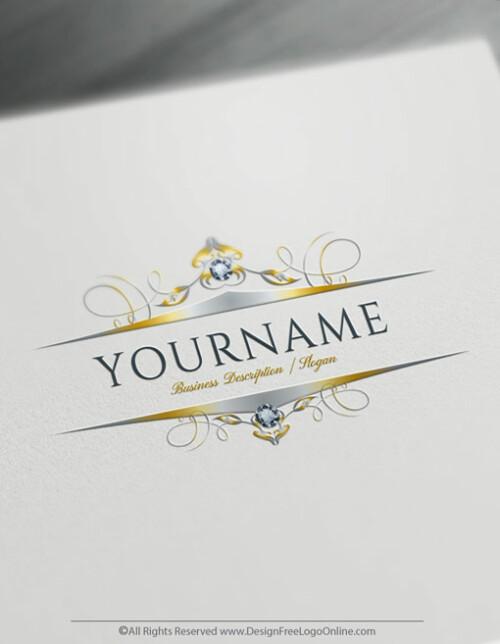 Design your own frame Logo by using the Diamond logo maker