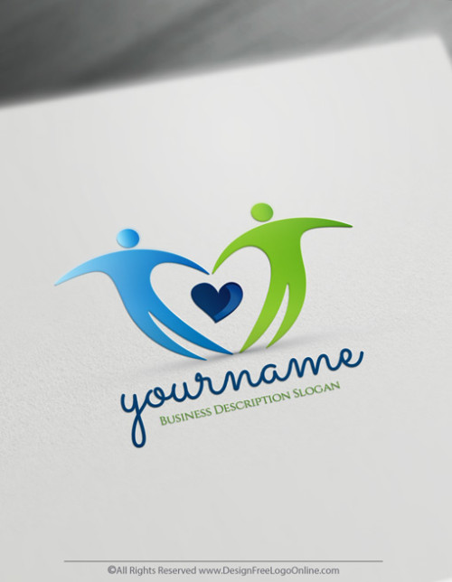 Create a Professional People Community Logo for Your Brand