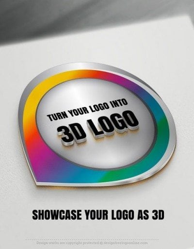Give your logo a special 3D effect