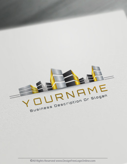 Instantly create your own Gold Building Logo Design Online Using Real Estate Logo Maker. Create as many cool realtor logo ideas as you need free.