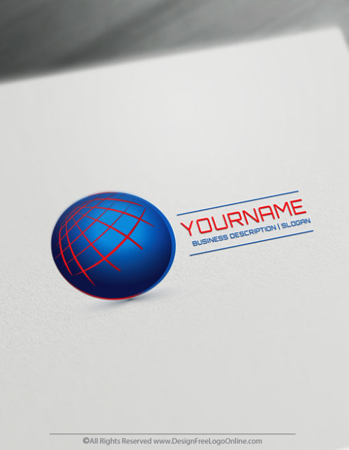 Be your own logo designer for free with the online 3D Logo Maker