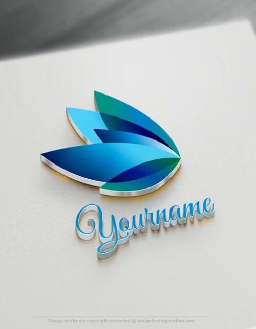 online Butterfly Logo maker