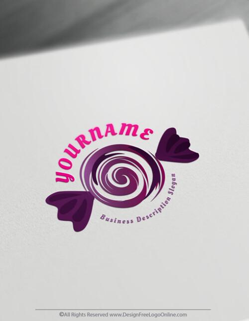 Sweet Candy Lollipop logo now