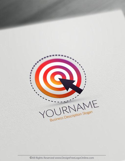Design Free Target Logo Online Business Logo Maker
