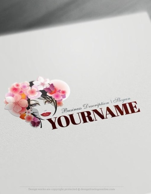 woman-flowers-Logo-Template