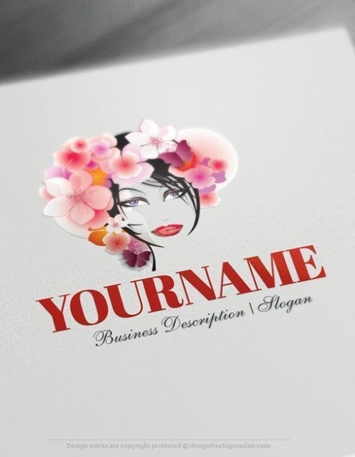 woman-flowers-Logo-Templates