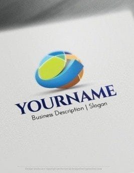 00545-2D-Checked-Globe-logo-design-free-logos-online-01