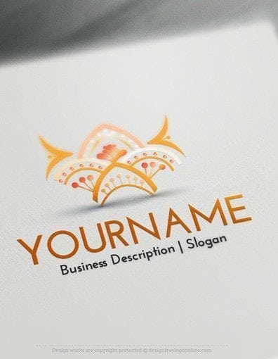 00554-2d-Fashion-Crest-logo-design-free-logos-online-03