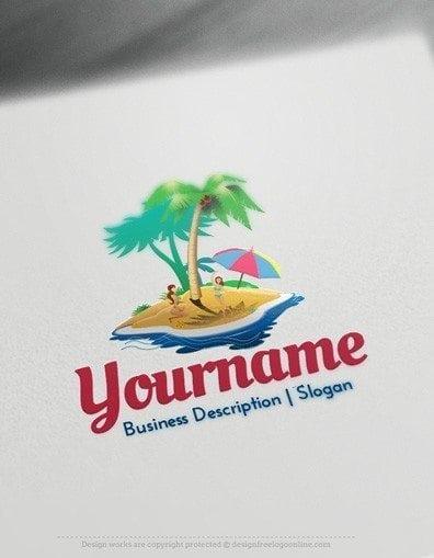 00557-2d-Island-logo-design-free-logos-online-01