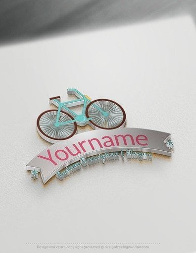 Design Cool Logo Ideas with Bicycle Logo Templates