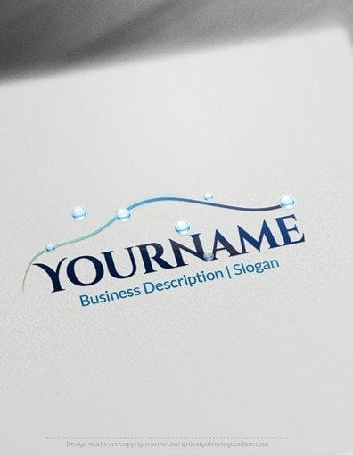 Design Free Logo: Car Wash Online Logo Template