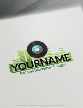 00561-2d-Music-Record-logo-design-free-logos-online-02